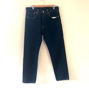 Levi's 501 T - dark wash denim W 34 L 32